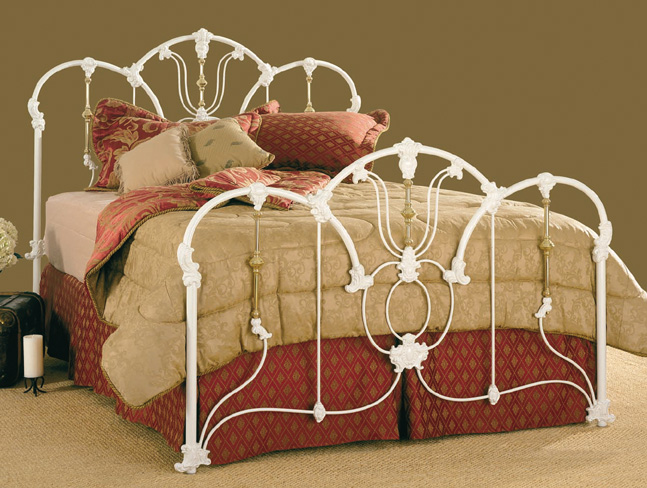 Antique Iron Bed Frame Parts : Southwest country elliott s designs beds jasmine