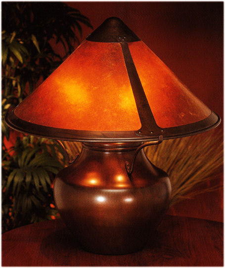 Mica lamps lodge lamp 009 lodge lamp 009 mica small lodge table lamp 009 mozeypictures Images