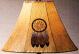 Raw Hide Lamp Shades