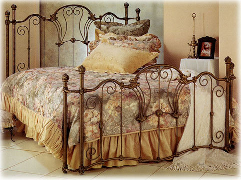 Wesley Allen victorian classical iron beds, Interlude 1027