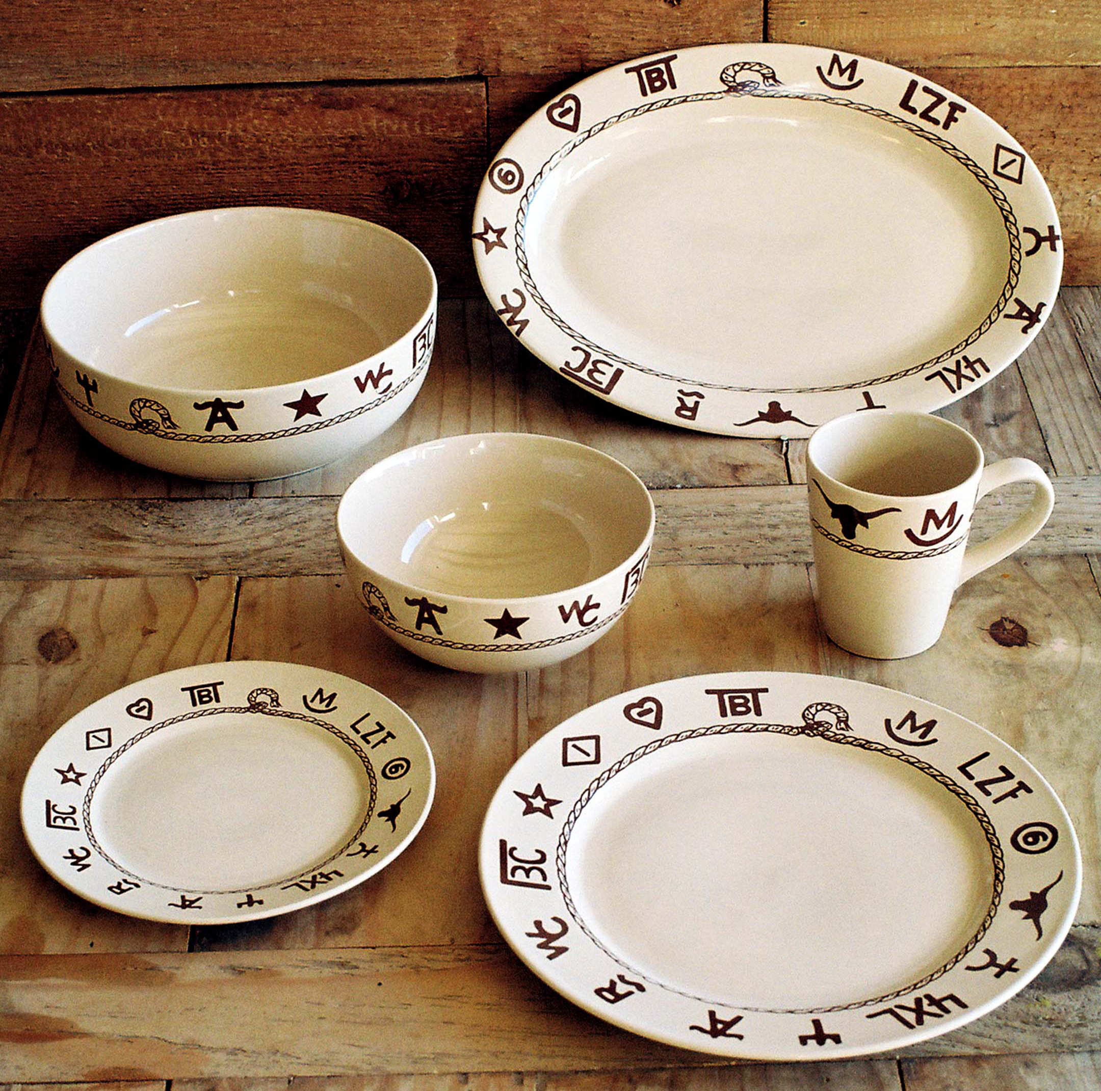 western dishware dinnerware [ LARGER IMAGE ] & Western dinnerware dishware goblets branded dinnerware dining ...